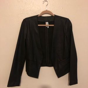 Pleather business jacket